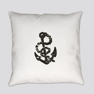 Vintage Anchor Everyday Pillow