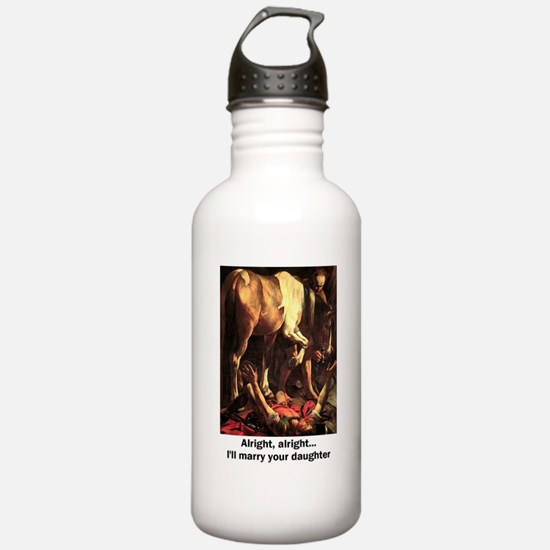 Unique Humorous groom Water Bottle
