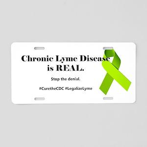 chronic1 Aluminum License Plate
