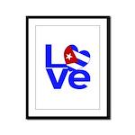 Cuban Love Framed Panel Print