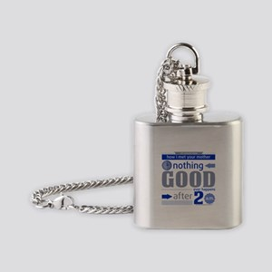 Nothing Good Happens After 2 Am Flask Necklace