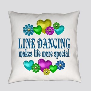 Line Dancing More Special Everyday Pillow