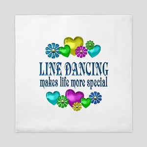 Line Dancing More Special Queen Duvet