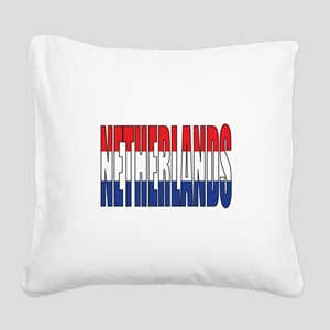 Netherlands Square Canvas Pillow