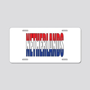 Netherlands Aluminum License Plate