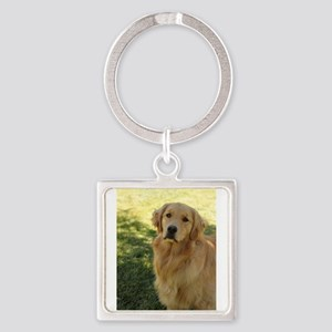 golden retriever n Keychains