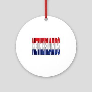 Netherlands Round Ornament
