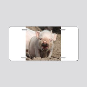 Piglet 001 Aluminum License Plate