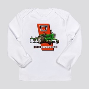 Oliver 1750 Tractor Long Sleeve T-Shirt