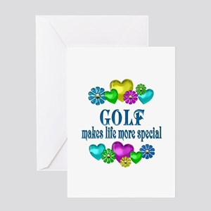 Golf More Special Greeting Card