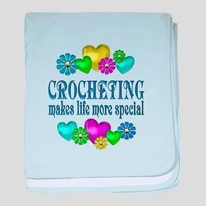Crocheting More Fun baby blanket