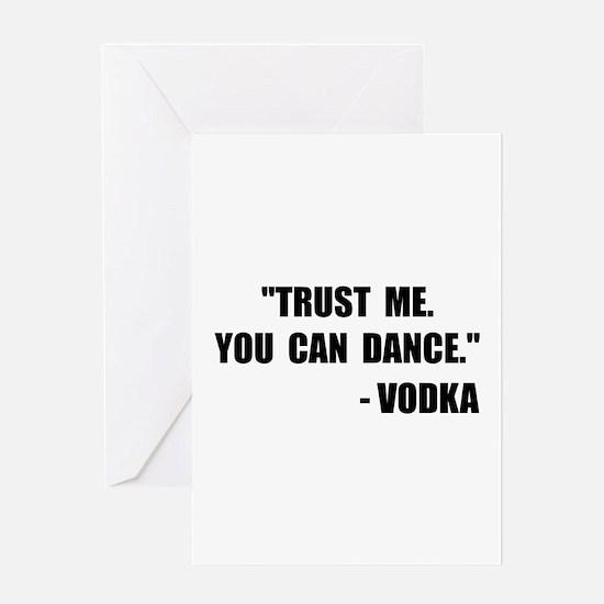 Funny Vodka Greeting Card