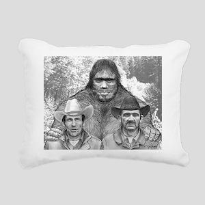 Roger Bob and Patty Rectangular Canvas Pillow