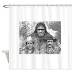 Roger Bob and Patty Shower Curtain