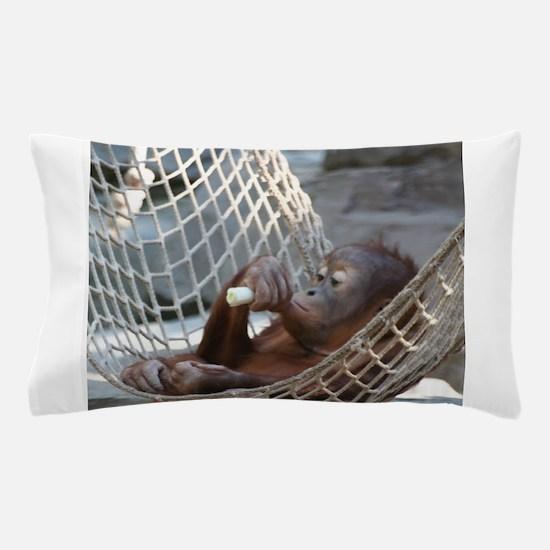 OrangUtan014 Pillow Case