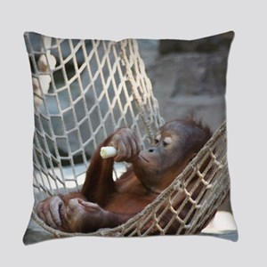 OrangUtan014 Everyday Pillow