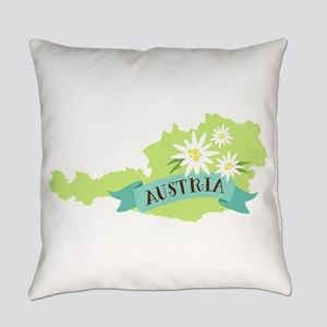 Austria Everyday Pillow
