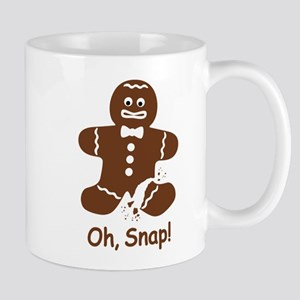 Oh, Snap! Gingerbread Man Mugs
