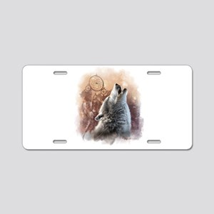 Howler Aluminum License Plate