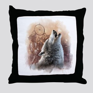 Howler Throw Pillow