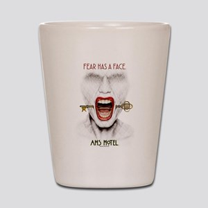 AHS Hotel Fear Has a Face Shot Glass