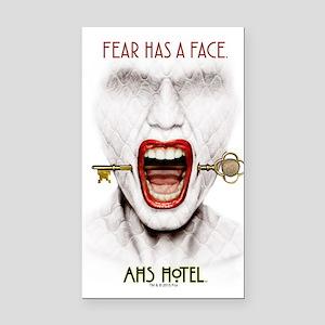 AHS Hotel Fear Has a Face Rectangle Car Magnet