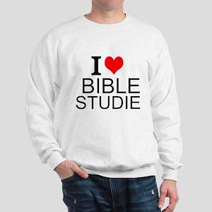 I Love Bible Studies Sweatshirt