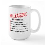 Wellraisers Code Large Mug Mugs