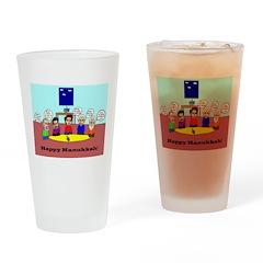 Philosophy Hanukkah Drinking Glass