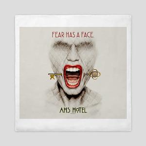 AHS Hotel Fear Has a Face Queen Duvet