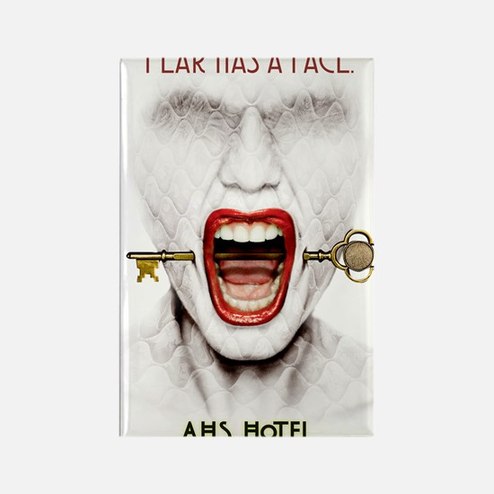 AHS Hotel Fear Has a Face Rectangle Magnet