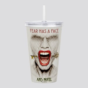 AHS Hotel Fear Has a F Acrylic Double-wall Tumbler