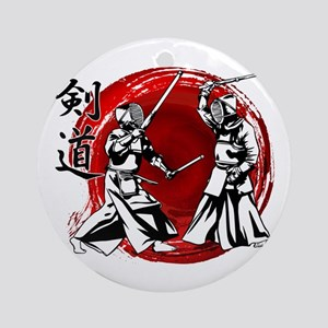 Kendo Round Ornament