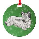 Skye Terrier (Cream) Ornament