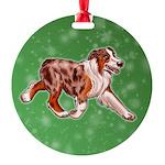 Australian Shepherd (Red Merle) Ornament