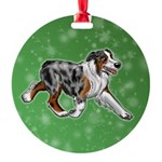Australian Shepherd (Blue Merle) Ornament
