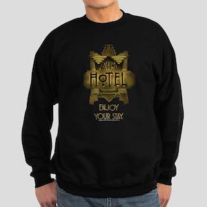 AHS Hotel Enjoy Your Stay Sweatshirt (dark)