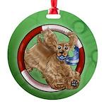 American Cocker Spaniel Buff Ornament