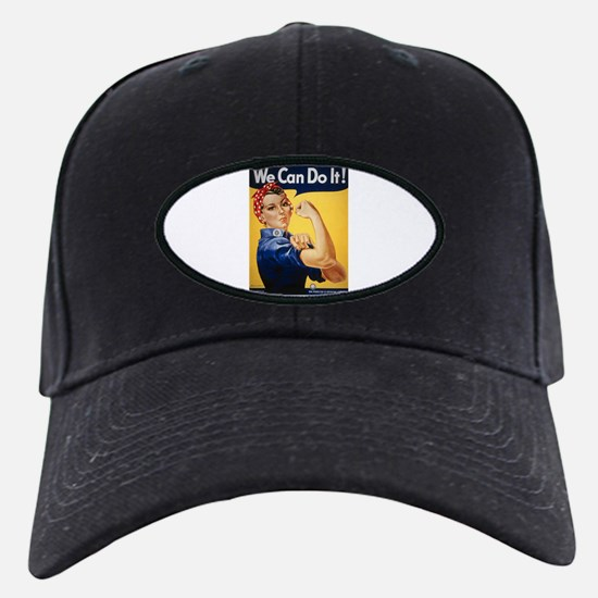 Rosie Riveter We Can Do It Baseball Hat