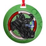 American Cocker Spaniel Black Ornament