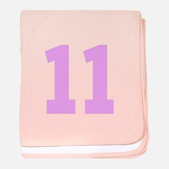 PINK #11 baby blanket