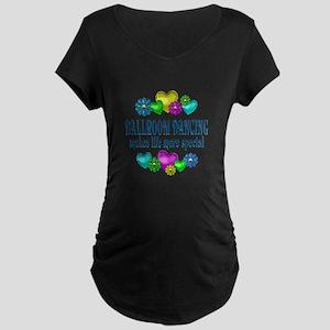 Ballroom More Special Maternity Dark T-Shirt