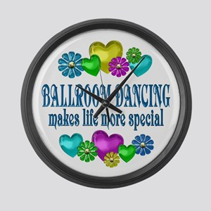 Ballroom More Special Large Wall Clock