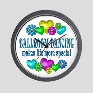 Ballroom More Special Wall Clock