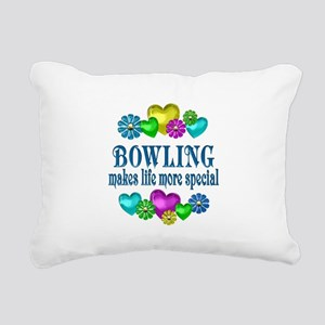 Bowling More Special Rectangular Canvas Pillow
