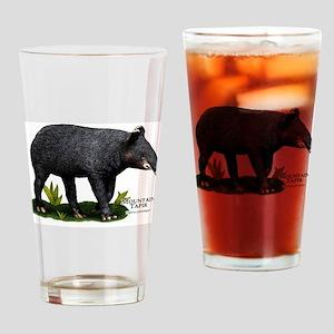 Mountain Tapir Drinking Glass