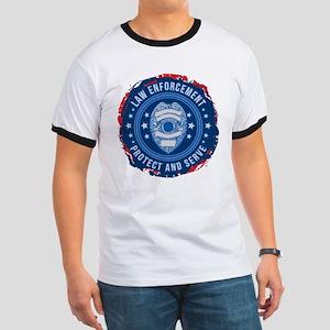 Law Enforcement Seal of Safety Ringer T