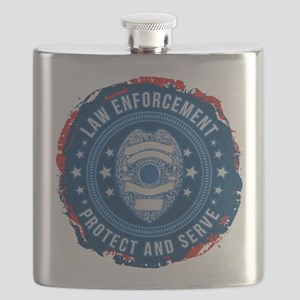 Law Enforcement Seal of Safety Flask
