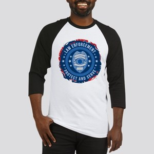 Law Enforcement Seal of Safety Baseball Jersey