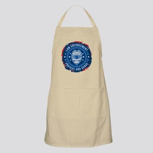 Law Enforcement Seal of Safety Apron